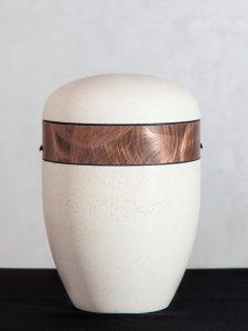 U11 Naturstoff, steinoptik mit Kupferband