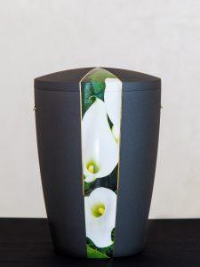 U3 Naturstoff, mit Motivausschnitt Calla